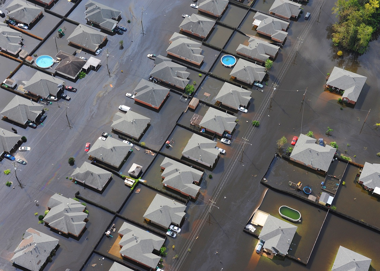 100 de case inundate in judetul Brasov